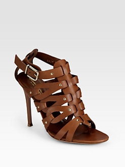 Altuzarra - Strappy Leather Sandals