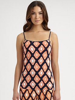 Cosabella - Marcy Geometric-Print Camisole