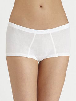 Cosabella - Ribbed Cotton Low-Rise Boy Briefs