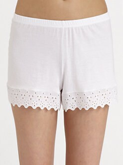 Cosabella - Eyelet-Trimmed Knit Boxers