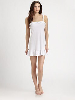 Cosabella - Eyelet Lace-Trimmed Babydoll