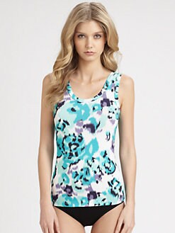 Cosabella - Graphic Ikat-Print Camisole