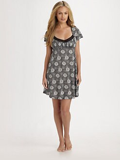 Cosabella - Printed Chemise Dress