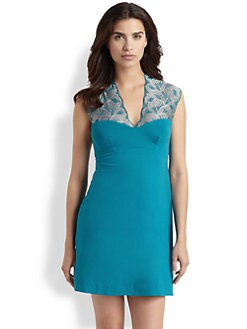 Cosabella - Peacock Short Slip Dress