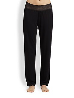 Cosabella - Lace-Waist Jersey Pants
