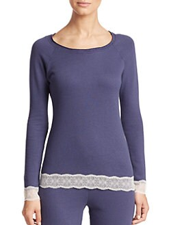 Cosabella - Cortina Lace-Trim Top