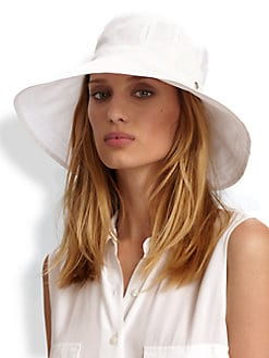 Helen Kaminski - Herme Cotton Organdy Bucket Hat