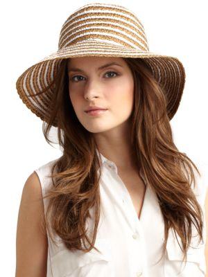 Eric Javits Braid Dame Bucket Hat In Black Mix  fb116a0c2e5