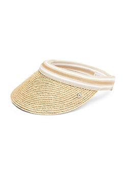 Helen Kaminski - Marina Raffia Visor