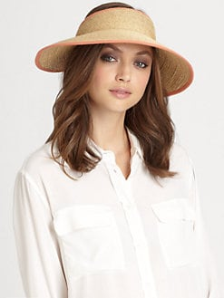 Helen Kaminski - Mita Raffia Visor
