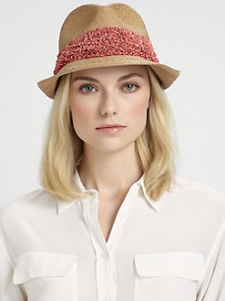Eugenia Kim - Max Straw Fedora