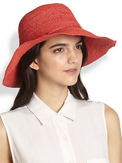 Helen Kaminski - Tahani Raffia Wide-Brimmed Hat