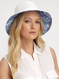Helen Kaminski - Printed Canvas Hat