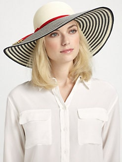 Eugenia Kim - Bunny Striped Brim Sun Hat