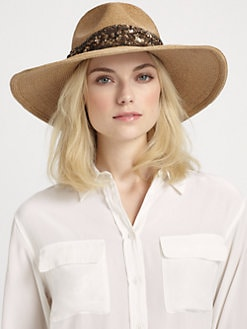 Eugenia Kim - Cassidy Sequin Straw Sun Hat