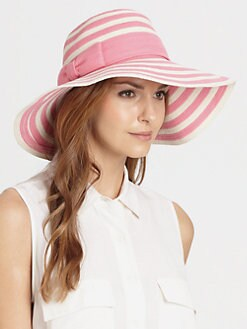 Kate Spade New York - Stripe Sun Hat