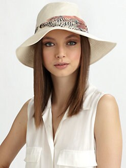 Eugenia Kim - Jordana Linen Fedora