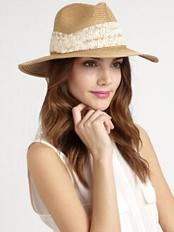 Genie By Eugenia Kim - Billie Floral Floppy Fedora
