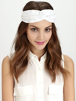 Genie By Eugenia Kim - Penny Lace Twist Turban Headband