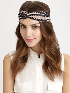 Genie By Eugenia Kim - Geometric Twist Turban Headband