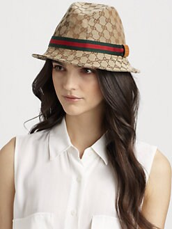 Gucci - Woven GG Bucklet Hat