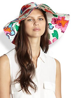 Kate Spade New York - Mexican Floral Sun Hat