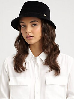 Helen Kaminski - Angora Felt Faux Fedora