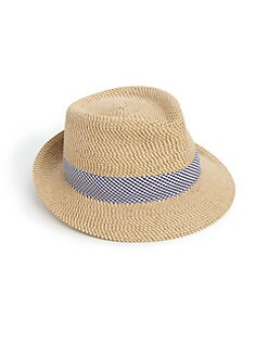 Eric Javits - Straw Fedora