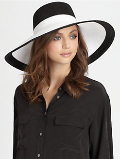 Eric Javits - Oversized Straw Hat