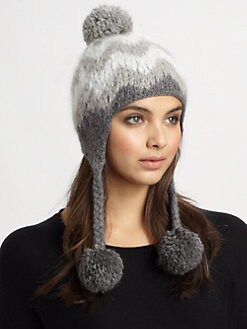 Eugenia Kim - Trooper Knit Pom-Pom Hat