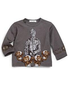 Dolce & Gabbana - Infant's Long-Sleeve Knight Shirt