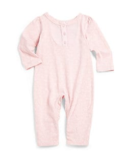 Splendid - Infant's Ditsy Floral Henley Footie