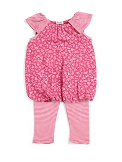 Splendid - Infant's Two-Piece Ditsy Floral Bubble Tunic & Leggings Set