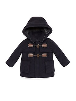 Gucci - Infant's Montgomery Wool & Cashmere Toggle Coat
