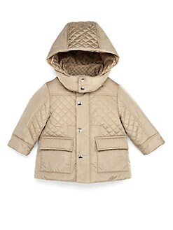 Gucci - Infant's Quilted Nylon Jacket