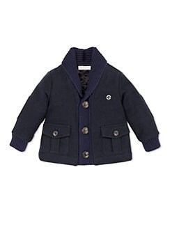 Gucci - Infant's Cotton Moleskin Jacket
