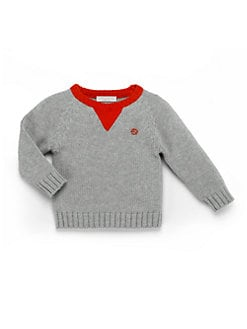 Gucci - Infant's Contrast Cotton Sweater