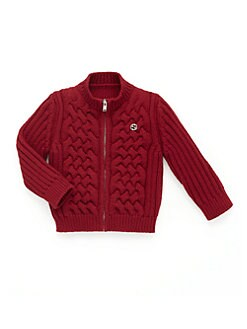 Gucci - Infant's Zip-Up Cardigan