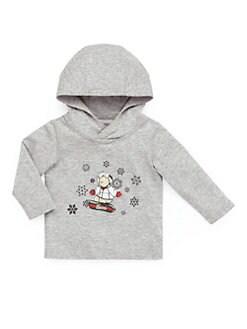 Gucci - Infant's Snowboarding Teddy Bear Hooded Tee