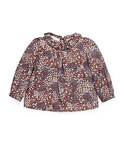 Gucci - Infant's Freesia Print Twill Top
