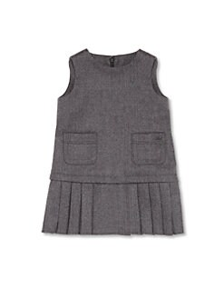 Gucci - Infant's Pleated Wool Dress