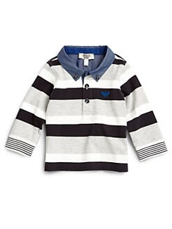 Armani Junior - Infant's Striped Polo Shirt