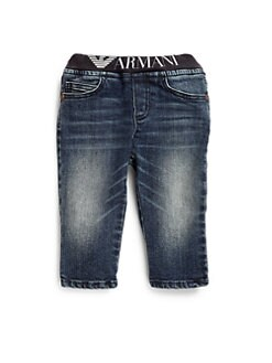 Armani Junior - Infant's Logo Waist Jeans