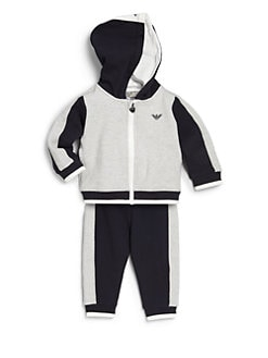Armani Junior - Infant's Two-Tone Fleece Track Suit