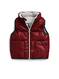 Armani Junior - Infant's Reversible Puffer Vest