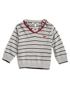 Armani Junior - Infant's Striped Sweater