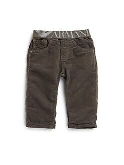 Armani Junior - Infant's Stretch Waist Corduroy Pants