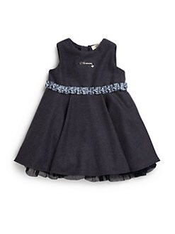 Armani Junior - Infant's Ruffled Dress