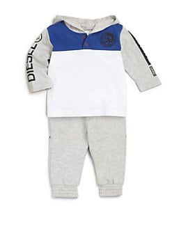 Diesel - Infant's Long-Sleeve Hooded Tee
