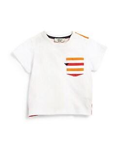Armani Junior - Infant's Rainbow Striped Tee